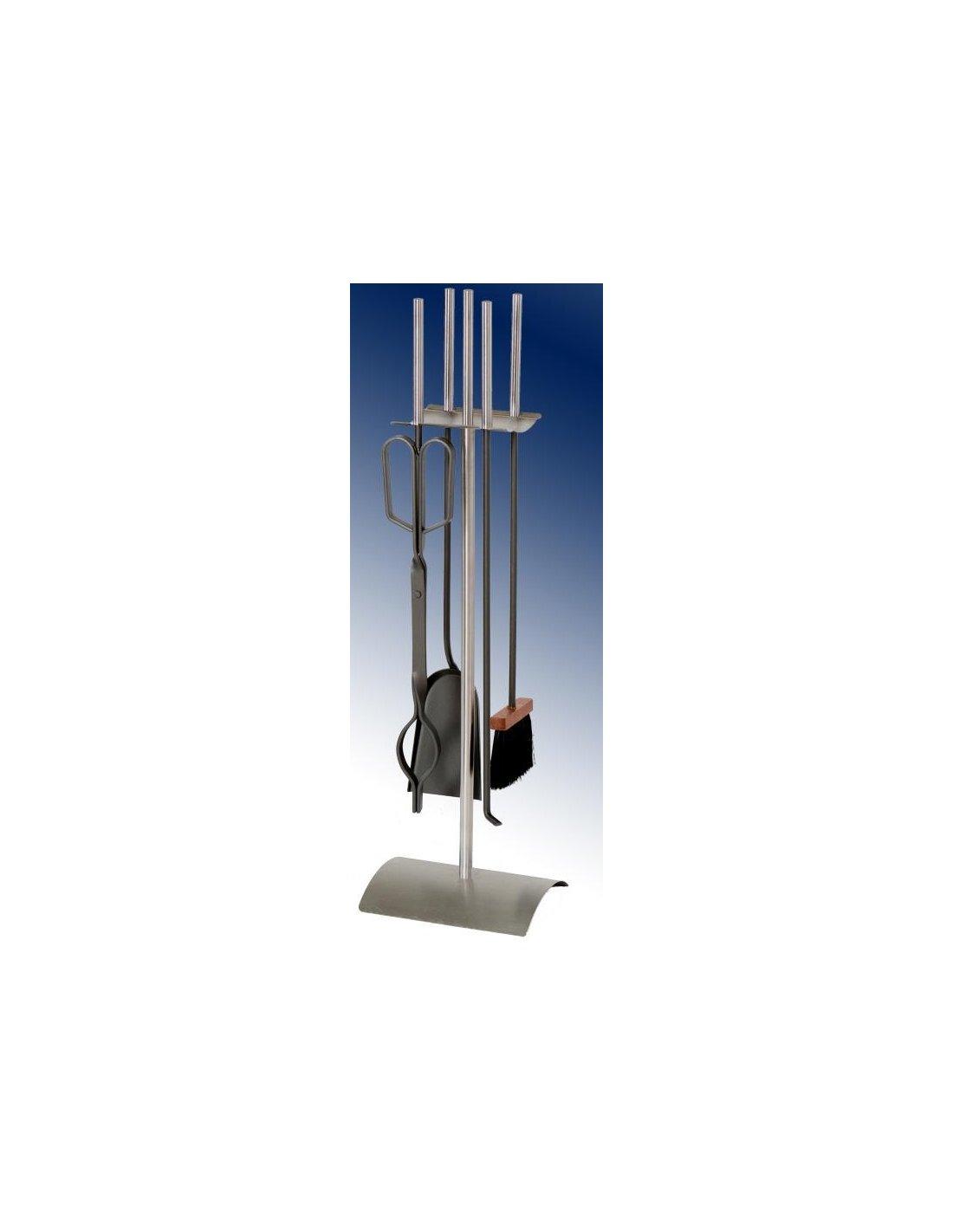 Juego de accesorios para chimenea en acero inoxidable y - Tubo de acero inoxidable para chimeneas ...