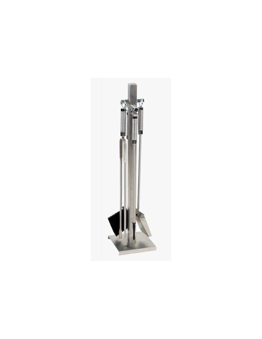 Juego de accesorios para chimenea en acero inoxidable - Accesorios para chimeneas ...