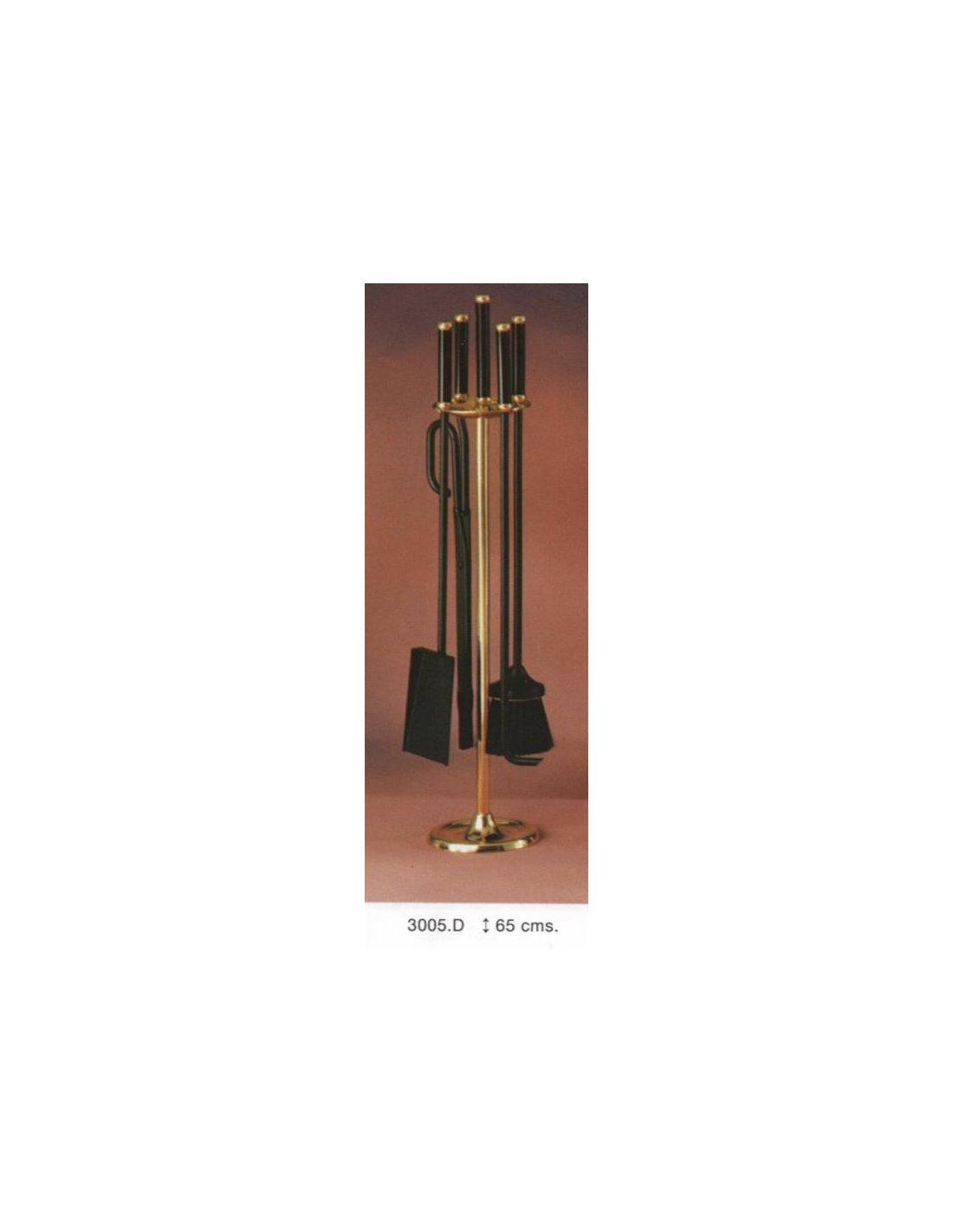 Juego de accesorios de chimenea iberica del fuego - Accesorios para chimeneas de lena ...