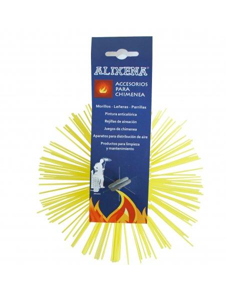 Erizos de nylon para deshollinar