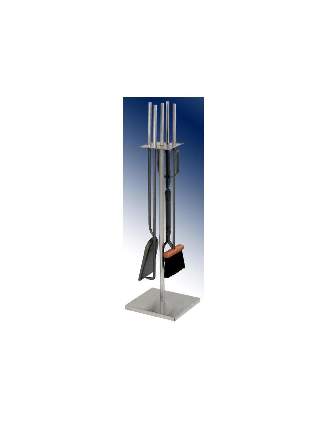 Juego de accesorios para chimenea inox iberica del fuego - Accesorios para chimeneas ...